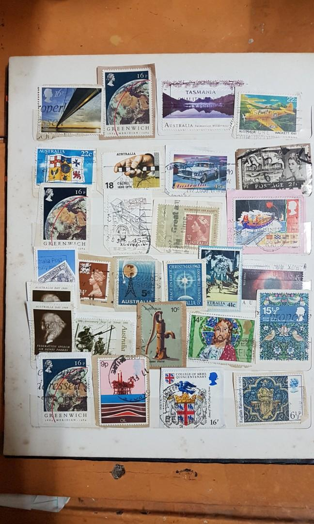vintage stamps selling by pc