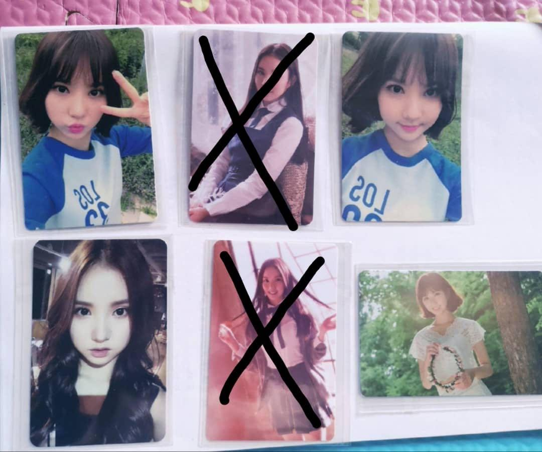 [WTS] GFRIEND EUNHA Official Pc (Extra Photocard from Album)