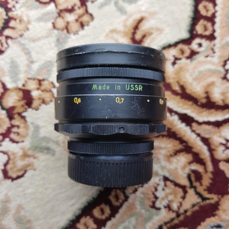 Zenit Helios 58mm f2 Russian M42 Manual Focus Film Camera Lens ( Helios 44-2 )