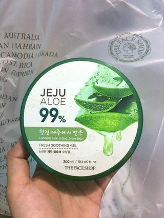 Aloe Vera gel by Jeju Aloe The Face Shop