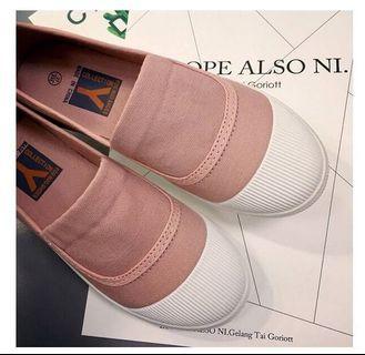韓版帆布懶人鞋/娃娃鞋