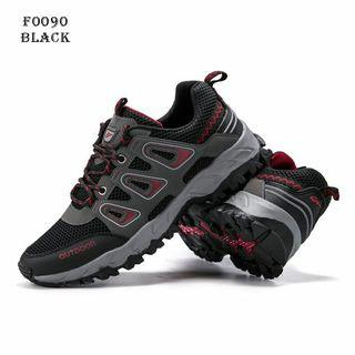 New Arrival...  MEN Sneakers Fashion Korea Shoes F0090@  Material Canvas vs PU Leather.  Semipremium Quality.  Weight with box 900 gram. 2 Colours  Gray.  Black.  Size Insole  39 - 24.5cm.  40 - 25cm.  41 - 25.5cm.  42 - 26cm.  43 - 26.5cm.