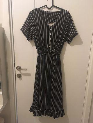Berrybenka Midi Stripe Dress