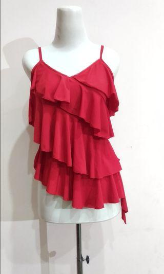 Red TankTop Stretch Good Quality