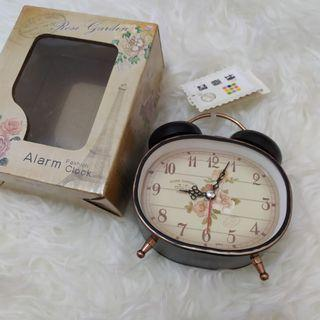 Rose Garden Alarm Clock NEW (no barter)