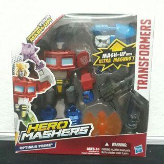 Optimus Prime Hasbro Hero Mashers Transformers Misb