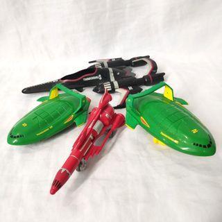 Lot Thunderbird 2 bandai