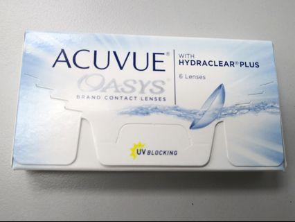 💯 % original New ACUVUE OASYS contact lense (-4.75)