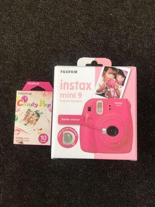 Instead FujiFilm mini 9 PINK 💖 Camera RRP $115
