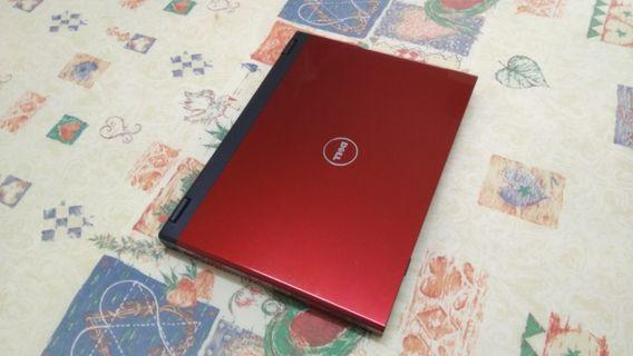 Dell Vostro Red Good Speed Very Big Screen 17 Inch Business Laptop