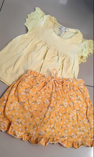 Girl Set size 1-2th