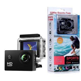 Sj50 HD 1080p Full 2.0 Inch Action Camera for Travel Sport Full Set with gopro accessories (BLACK , WHITE , SILVER)