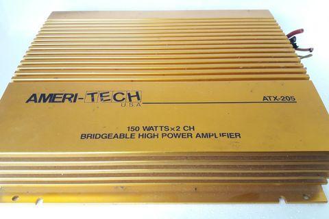 Ameri-Tech Bridgeable High Power Amplifier