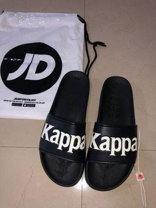 Kappa Adam 9 Slides / Slippers in Black