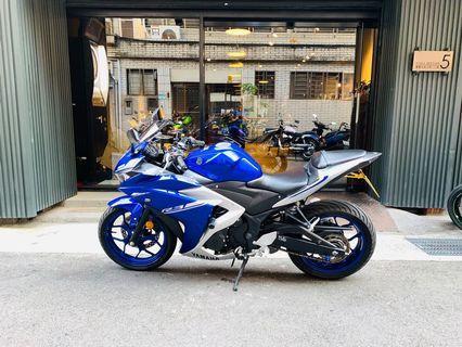 2017年 Yamaha YZF-R3 ABS 車況極優 只跑3千多公里