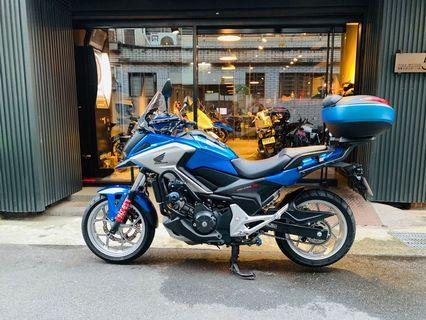 2017年 Honda NC750X ABS DCT 手自排 台本車 車況極新 只跑四千多公里 可接受車換車 可分期 免頭款