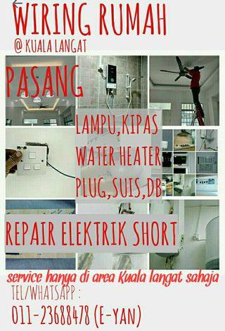 Elektrik Wiring Dan Pemasangan On Carousell