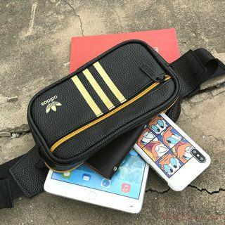 New design WATERPROOF PU Adidas waist Bag chest Bag