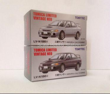 TLV-N Mitsubishi Lancer GSR Evolution IV (2 Set Car)