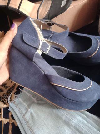 Sandal wedges Connextion