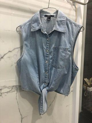 Foreve21 Denim Top