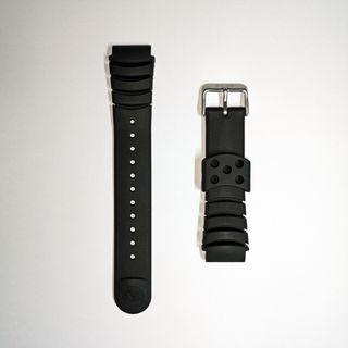 Original Seiko Z20 Diver Rubber 20mm Strap
