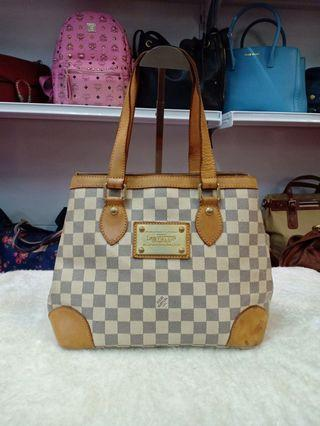 LV Azur Damier  Hampstead PM Bag