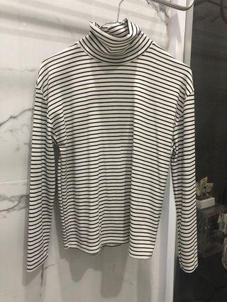 Stripe long sleeve tshirt