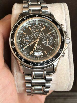 Alba men chronograph quartz watch