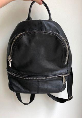 Black Casual Backpack