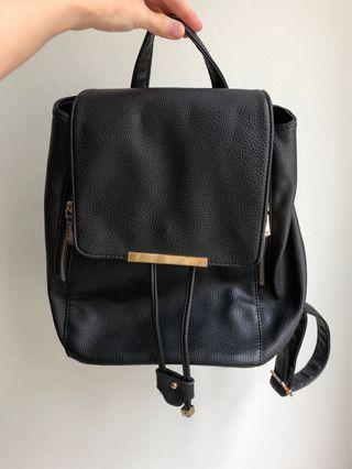 Chic Black Backpack