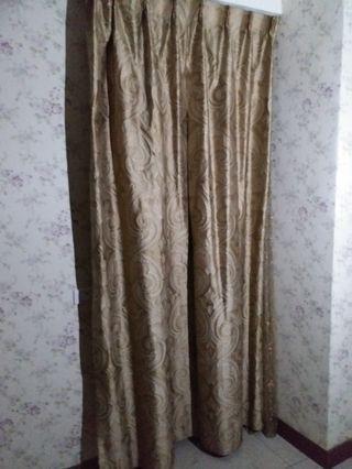 窗簾104× 長度223公分