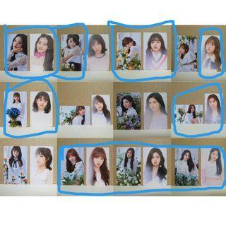 [WTB] Izone iz*One color*iz khino photocards