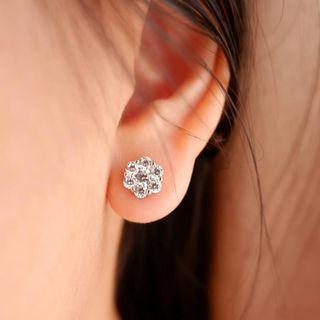 Florina earstud lapis emas 18k