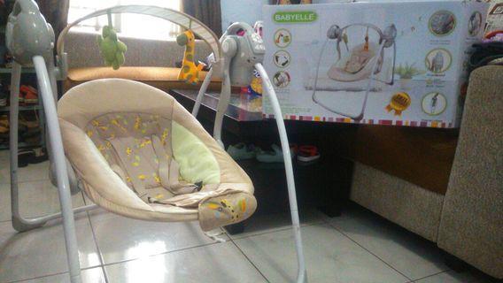 Baby Swing Ayunan Bouncer Babyelle