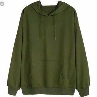 Sweater Outdoor Jaket Army Unisex Atasan Tops #Joinoktober