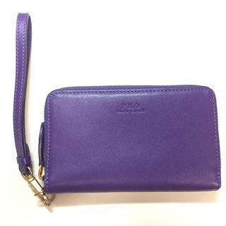 Authentic Polo Ralph Lauren Leather Phone Wallet