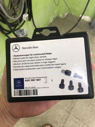 Mercedes Rim Lock Nut