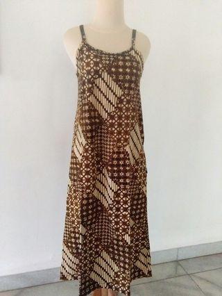 Dress batik rumah / tidur