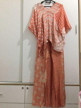 Set Batik Viscose (Celana & blouse)