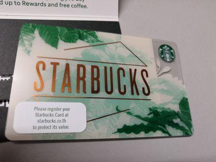Starbucks Card Limited Edition (THAILAND)