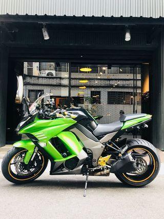 2013年 Kawasaki Ninja Z1000SX 忍者 忍千 車況極優 可分期 免頭款 歡迎車換車 網路評價最優 業界分期利息最低 旅跑 四缸 街車 Z1000 可參考