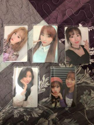 WTS// IZONE OFFICIAL PHOTOCARD