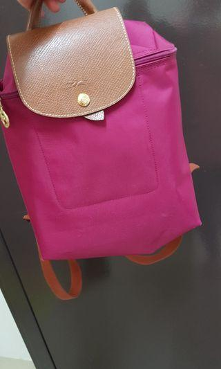 Backpack Longchamp Pink