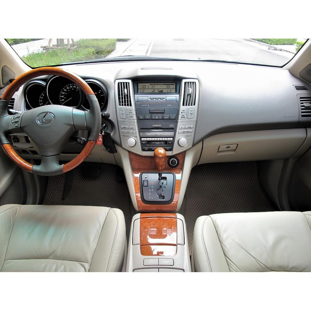 2004 凌志 RX330 3.3 多功能用動型休旅車 全景天窗 電動尾門 四輪傳動