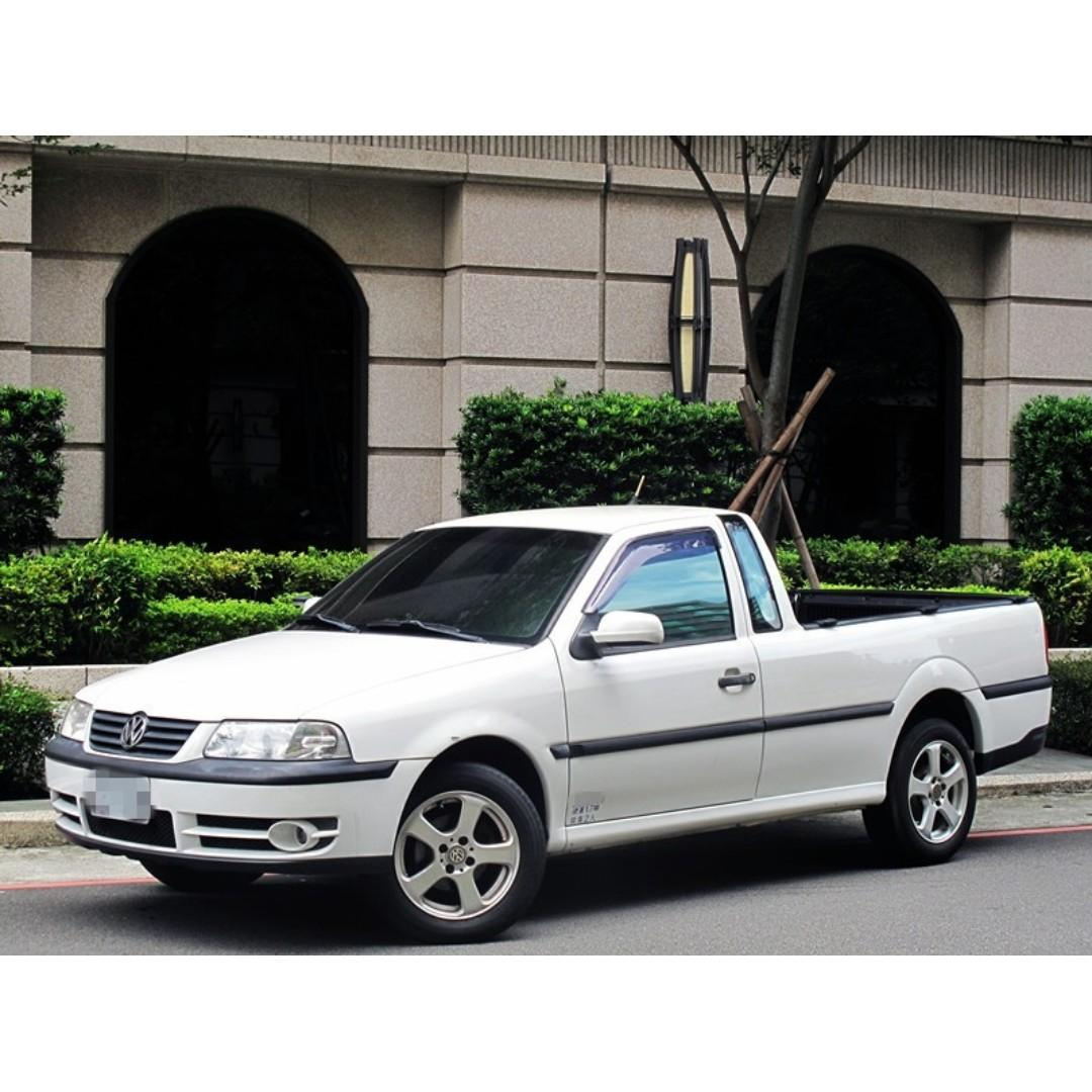 2005 VOLKSWAGEN POINTER 自用小貨車1.8L 手排 #全年度稅金7500元 只跑9萬公