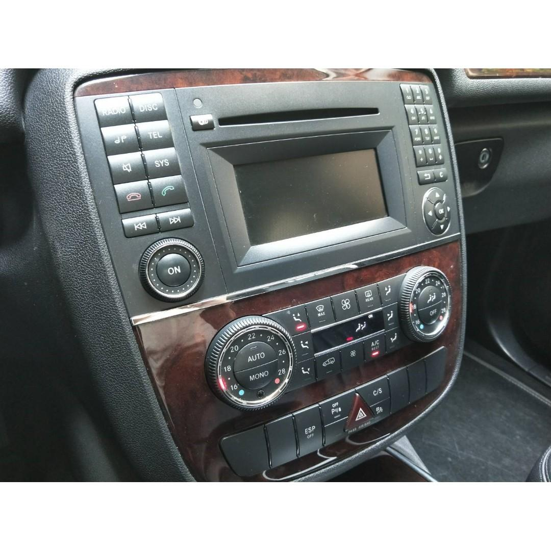 2009 BENZ R350 高級六人座休旅車 頂級配備 四輪驅動 精裝套件 8安 防滑 定速