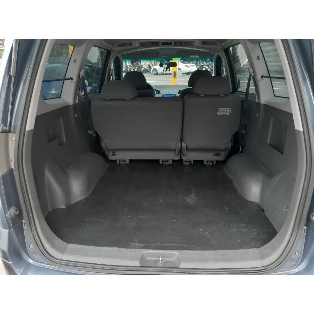 2010 三菱 ZINGER 商用車 超大空間 載貨好幫手 也可當床睡 觸控式多功能影音