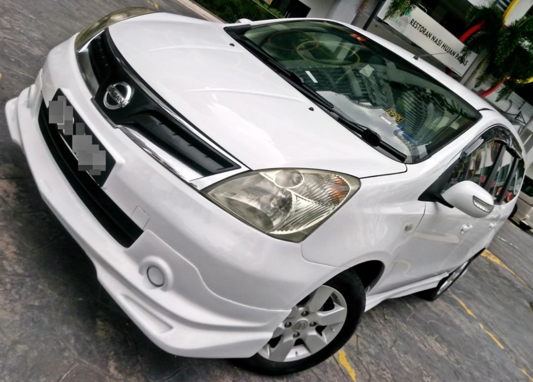 2011 Nissan GRAND LIVINA 1.6 (A) Dep2990 LOAN KEDAI KERETA