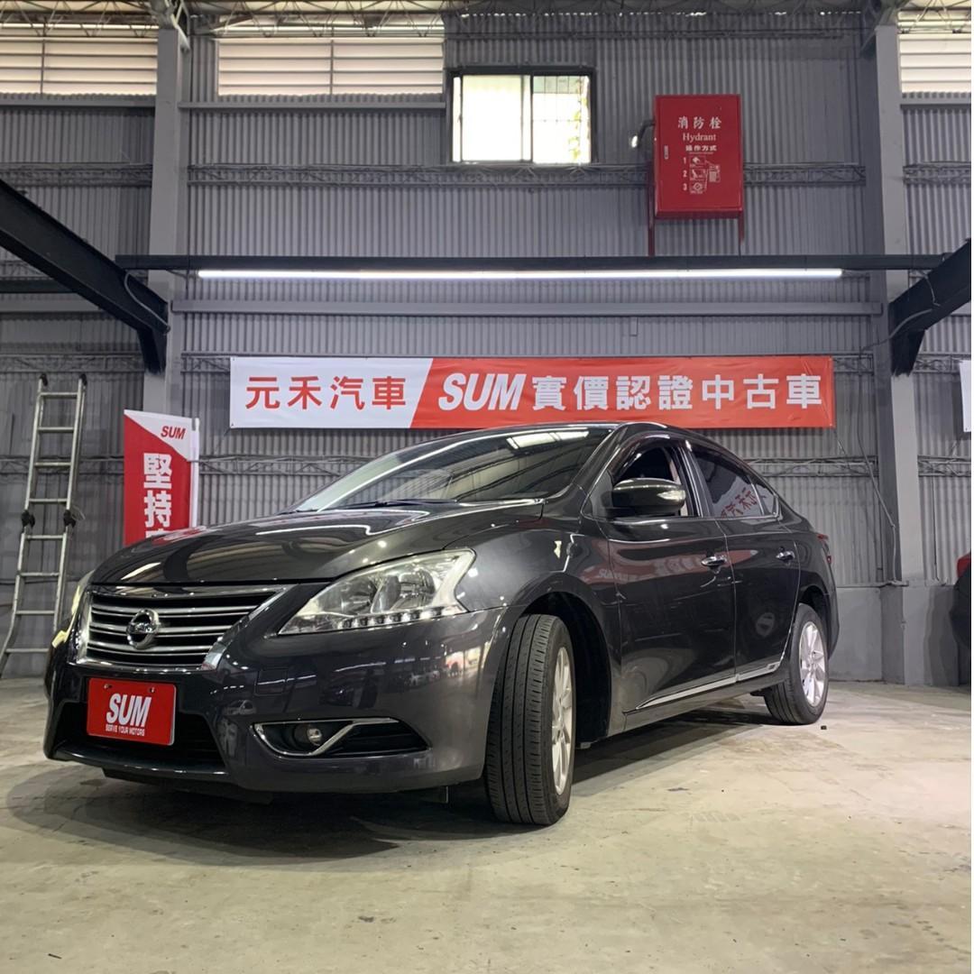 2014 Nissan Sentra 1.8頂級規格 紳士灰